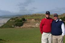 Two dentists at Bandon Dunes